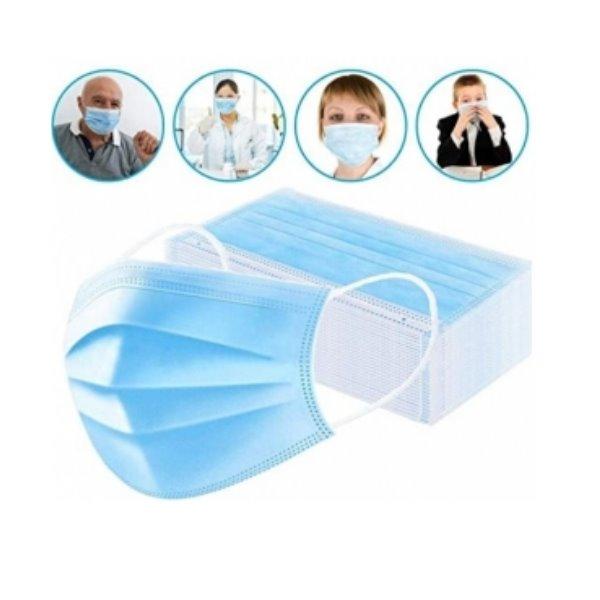 Einfacher-Mundschutz-blau