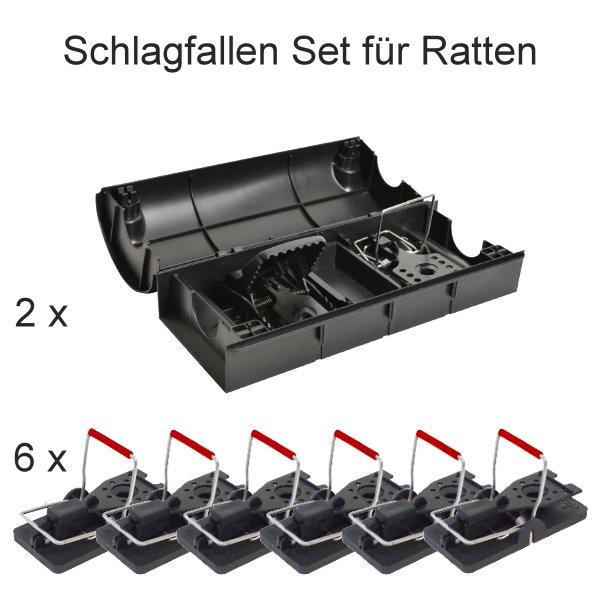Schlagfallen-Set-Ratten